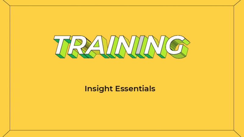 Insight Essentials