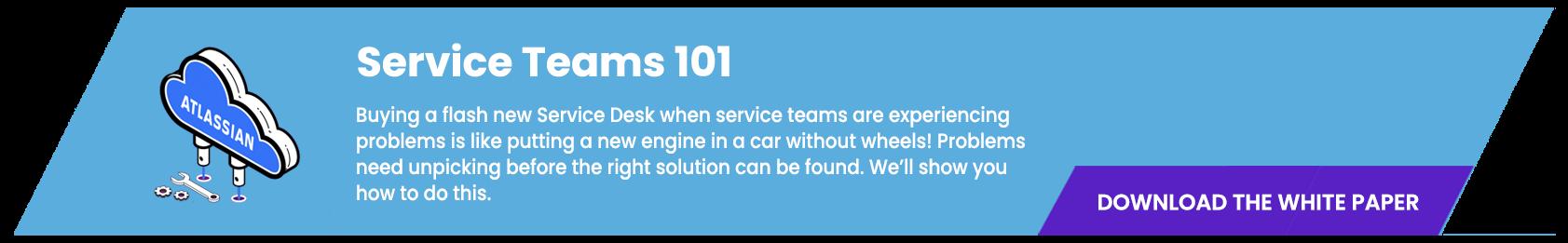 Service teams 101 White Paper